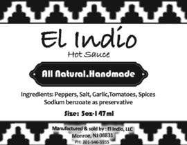 #12 untuk Design Modern and Clean label for Hot Sauce oleh starfz
