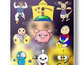 Nro 6 kilpailuun Draw cartoon set   40 pics käyttäjältä kev16lr