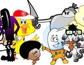 Nro 11 kilpailuun Draw cartoon set   40 pics käyttäjältä manikmoon