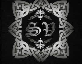 #50 for Change Logo to Chrome hearts style with steam. af fi6