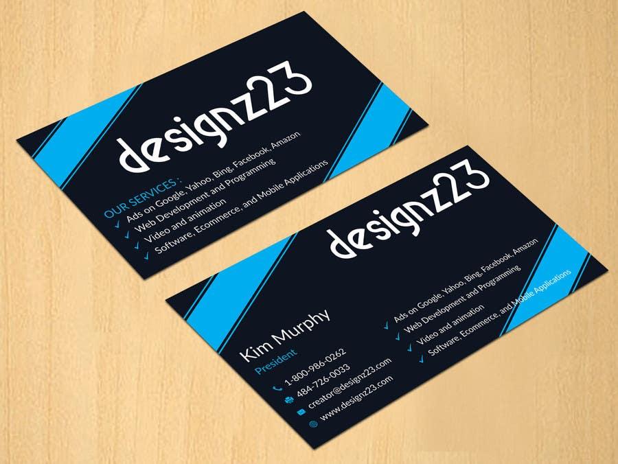 Kilpailutyö #29 kilpailussa Business Cards for marketing agency
