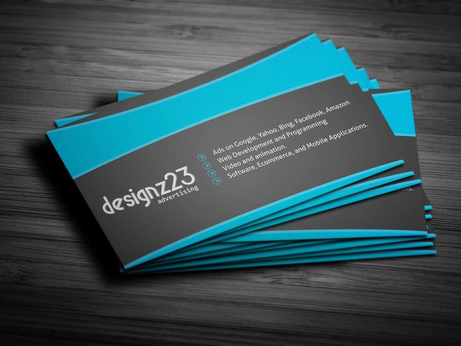Kilpailutyö #31 kilpailussa Business Cards for marketing agency