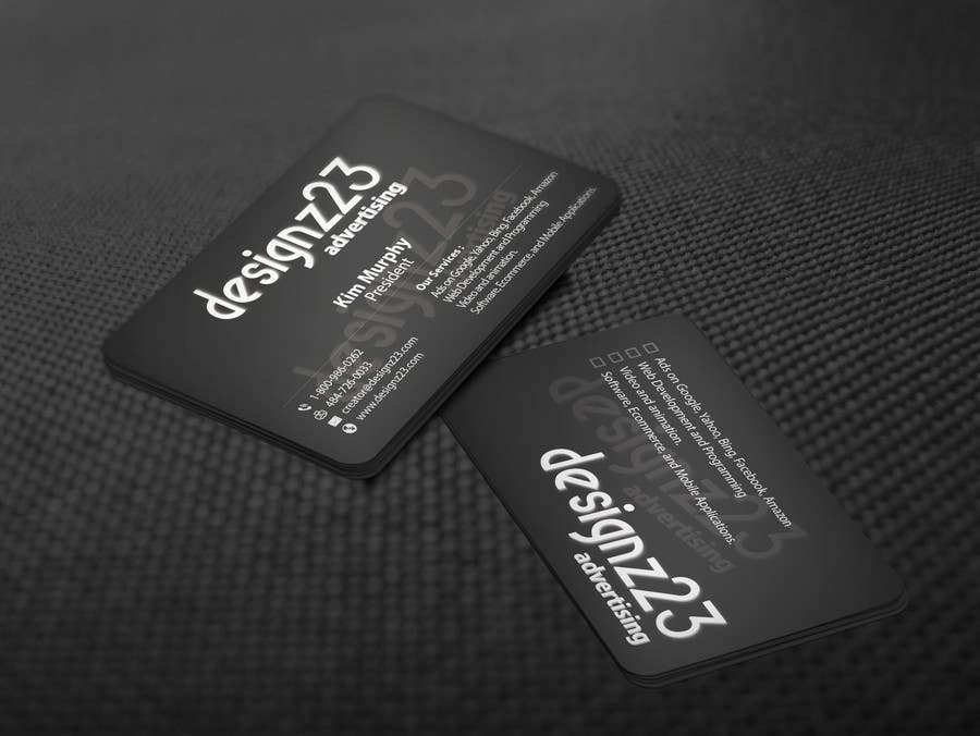 Kilpailutyö #82 kilpailussa Business Cards for marketing agency