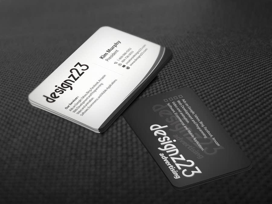 Kilpailutyö #84 kilpailussa Business Cards for marketing agency