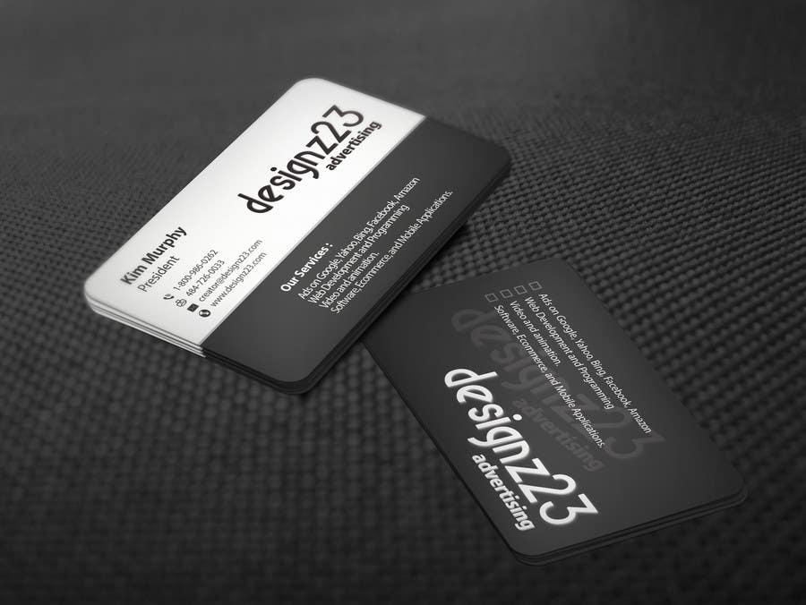 Kilpailutyö #174 kilpailussa Business Cards for marketing agency