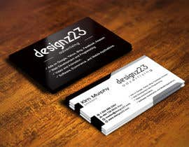 #247 untuk Business Cards for marketing agency oleh IllusionG