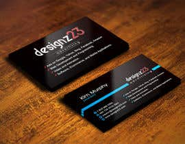 #250 para Business Cards for marketing agency por IllusionG