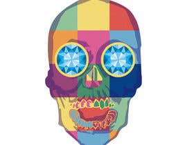#9 untuk Create POP ART Skull With Diamond Eyes oleh imagencreativajp