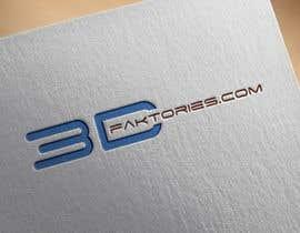 Nro 115 kilpailuun Design a Logo for 3Dfaktories.com käyttäjältä IAN255