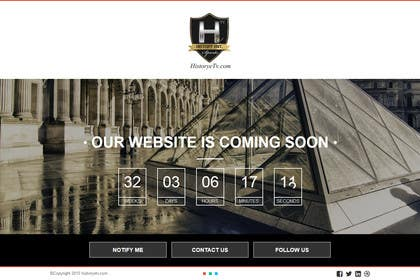 #2 untuk CREATE A COMING SOON PAGE! FOR MY WEBSITE oleh TECHRONYX