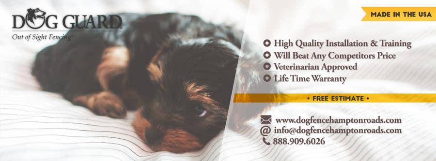Kilpailutyö #21 kilpailussa Design a Facebook Cover Graphic for Dog Business