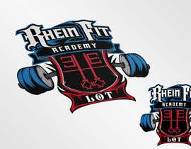 #38 cho Design a Logos for Rhein Fit Academy bởi kyriene