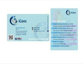 #11 for Design some Business Cards for iConz Pte Ltd af saliyachaminda