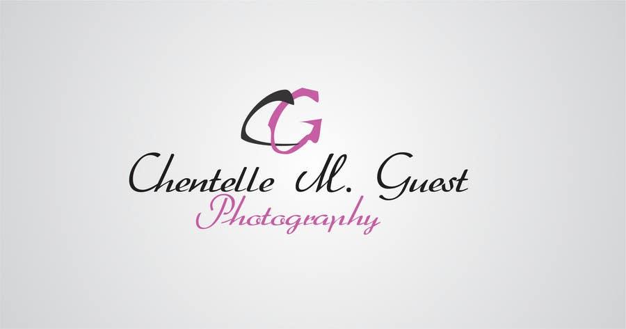 Kilpailutyö #                                        180                                      kilpailussa                                         Graphic Design for Chentelle M. Guest Photography