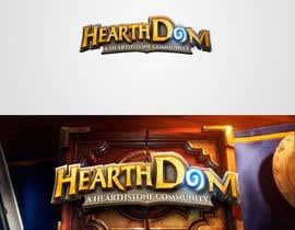 #11 for Design a Logo for Hearthstone fan site af letoleto