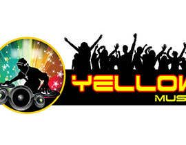 #41 para Design a Logo for Yellow Music por leostar371