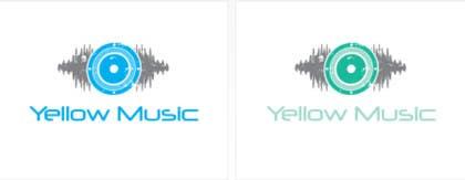 Nro 38 kilpailuun Design a Logo for Yellow Music käyttäjältä kamitiger07