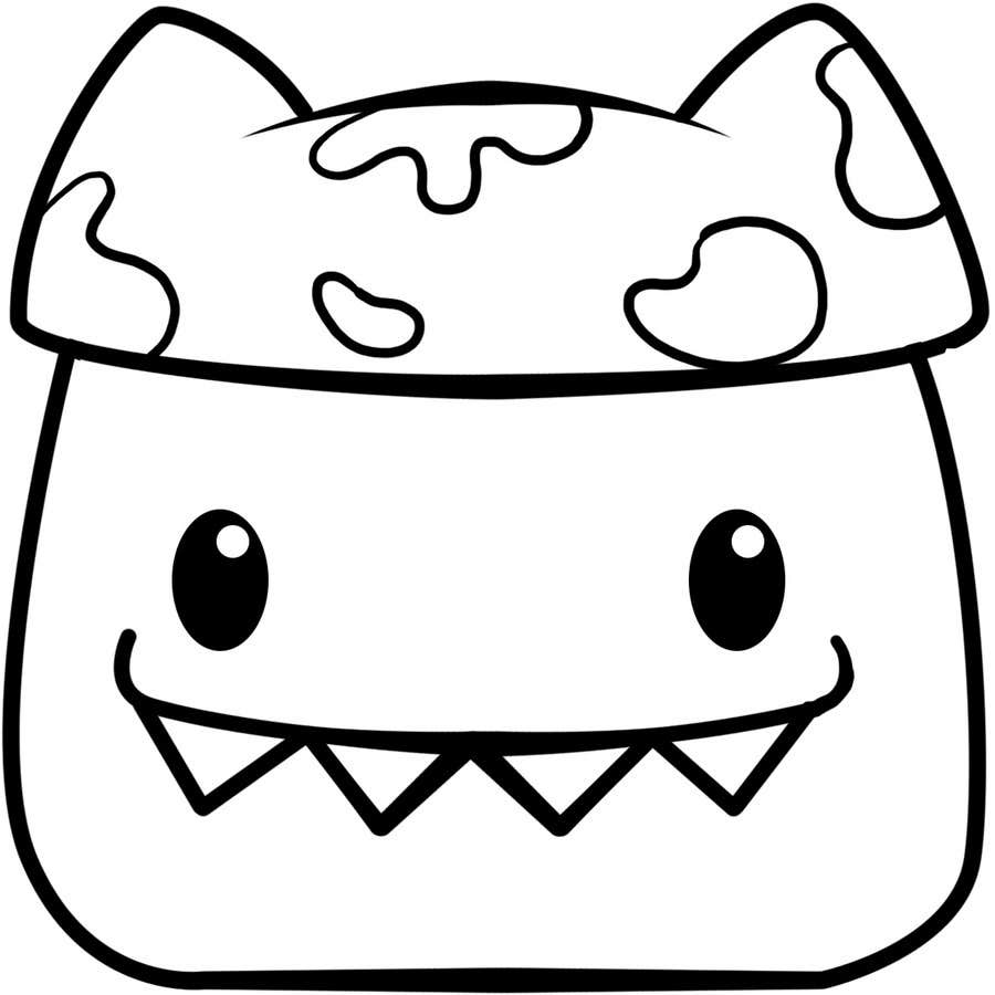 Конкурсная заявка №36 для Design a doodle character