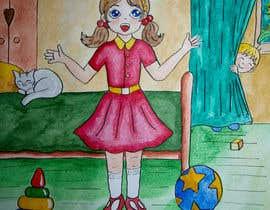 Nro 24 kilpailuun children's  illustration käyttäjältä artvaleria