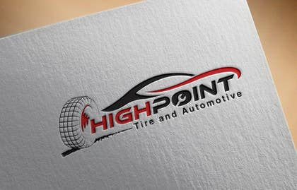 feroznadeem01 tarafından High Point Tire and Automotive Logo için no 75