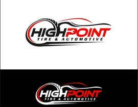 arteq04 tarafından High Point Tire and Automotive Logo için no 67