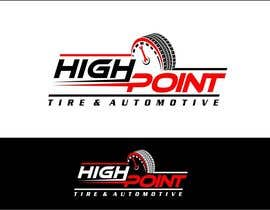 arteq04 tarafından High Point Tire and Automotive Logo için no 80