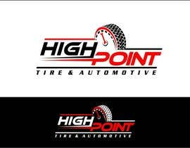 arteq04 tarafından High Point Tire and Automotive Logo için no 81