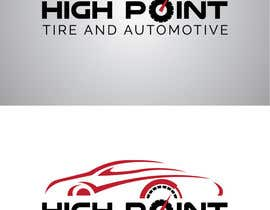 syrwebdevelopmen tarafından High Point Tire and Automotive Logo için no 77