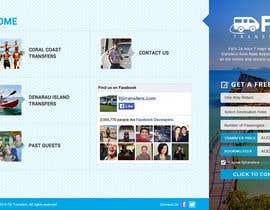 Dezign365web tarafından Design a 2 page Website Mockup için no 2