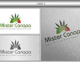 #25 for Disegnare un Logo for Mister Canapa by DezineGeek