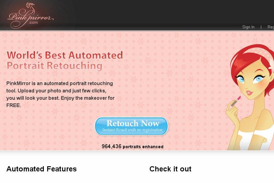#178 for Design a Logo for Pinkmirror.com by ura