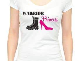 #21 cho Design a T-Shirt for Warrior Princess bởi adstyling