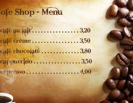 #6 cho Help me with designing a simple but effective cafe menu -- 2 bởi creativework2015