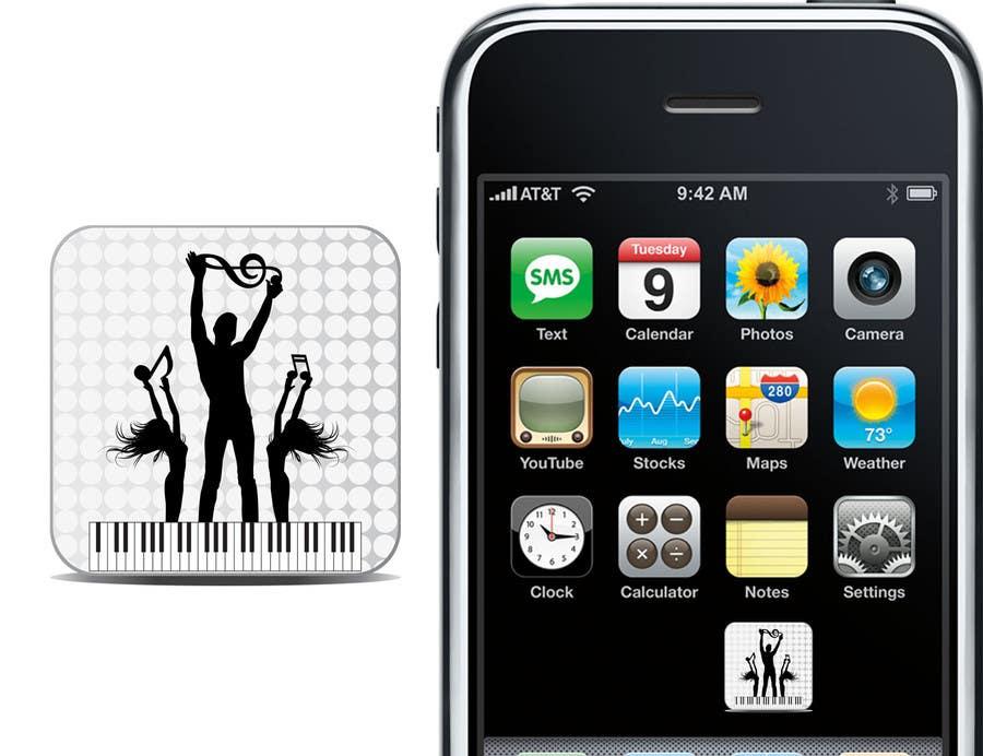 Bài tham dự cuộc thi #                                        35                                      cho                                         Design Iphone App Icon for a Music Festival Playlist app