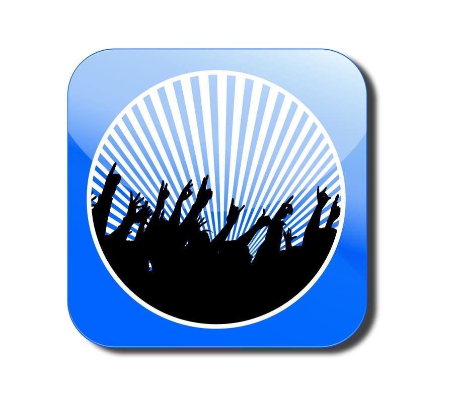 Bài tham dự cuộc thi #                                        19                                      cho                                         Design Iphone App Icon for a Music Festival Playlist app