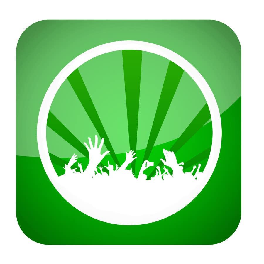 Bài tham dự cuộc thi #                                        18                                      cho                                         Design Iphone App Icon for a Music Festival Playlist app
