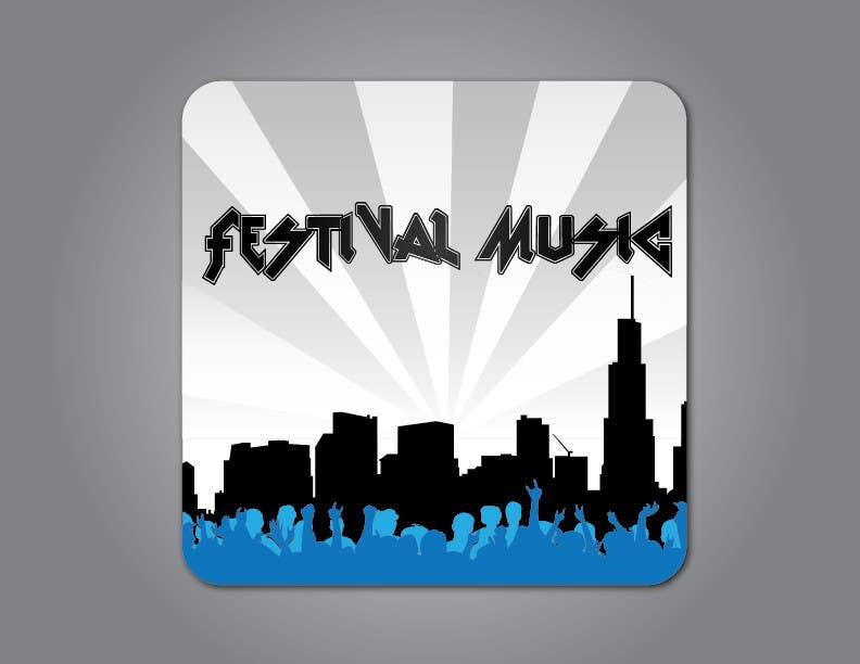 Bài tham dự cuộc thi #                                        12                                      cho                                         Design Iphone App Icon for a Music Festival Playlist app