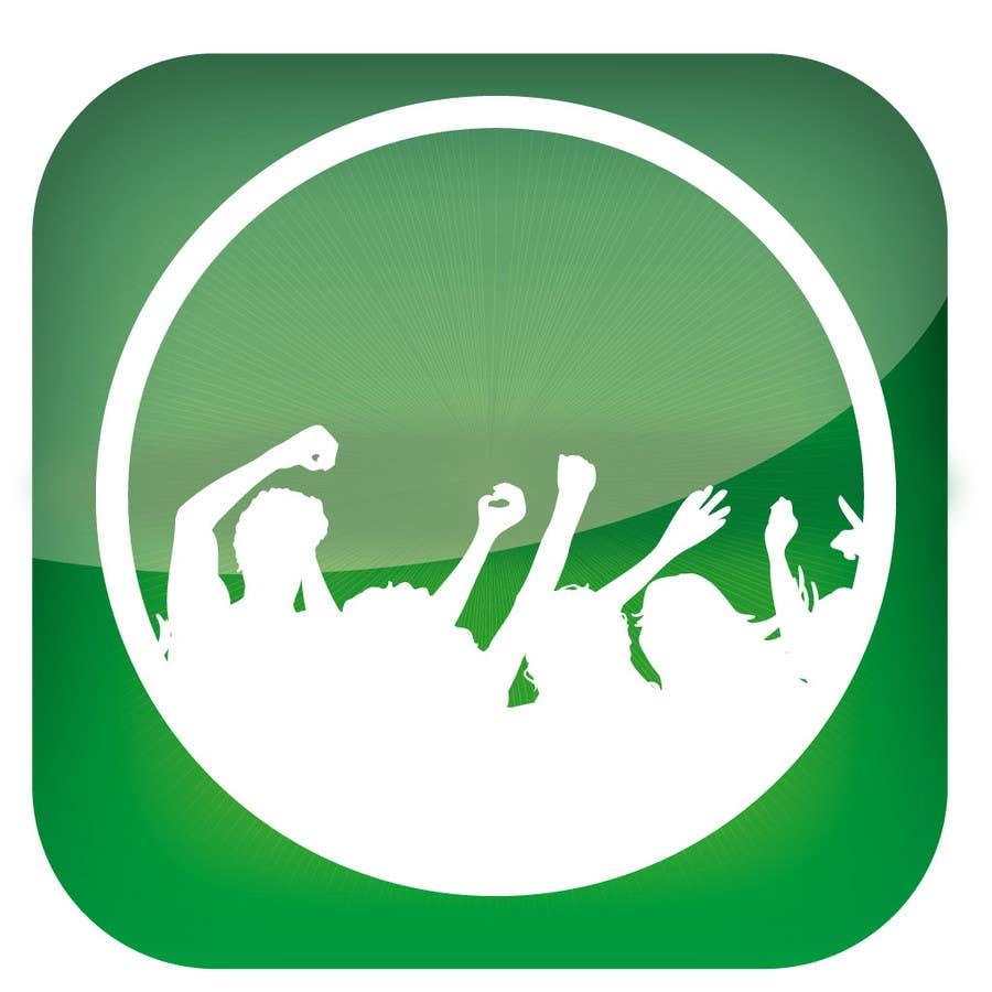 Bài tham dự cuộc thi #                                        2                                      cho                                         Design Iphone App Icon for a Music Festival Playlist app