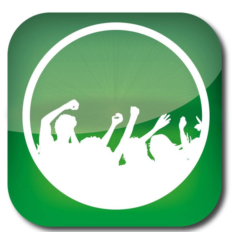Bài tham dự cuộc thi #                                        4                                      cho                                         Design Iphone App Icon for a Music Festival Playlist app
