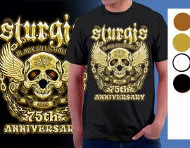 Nro 83 kilpailuun Design a T-Shirt for STURGIS 2015 käyttäjältä artist4