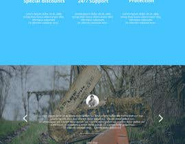 #5 untuk Design a Website Mockup for a Wordpress site oleh alssiha
