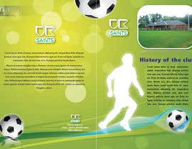 #25 untuk Graphic Design for uk saints brochure oleh xzenashok