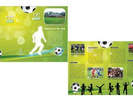 #19 untuk Graphic Design for uk saints brochure oleh xzenashok