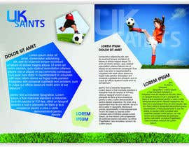 #23 per Graphic Design for uk saints brochure da BenettAdv