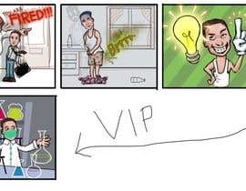 #9 cho Create 8 cartoons for comic strip bởi Palewind