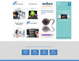 #2 for Design a Website Mockup for Computer Repair Website by AdrianCuc