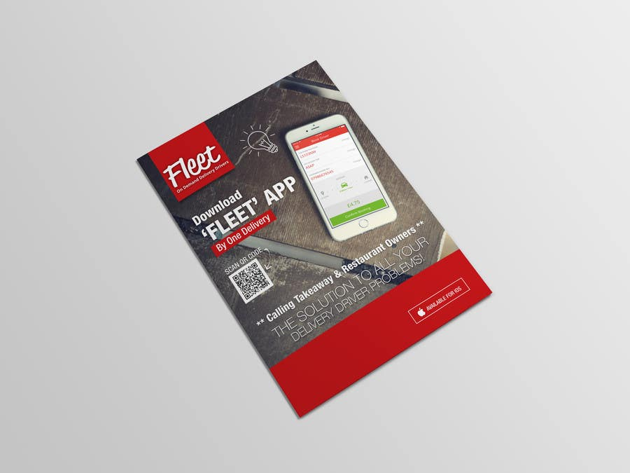Kilpailutyö #21 kilpailussa Design a marketing flyer/brochure to promote my App