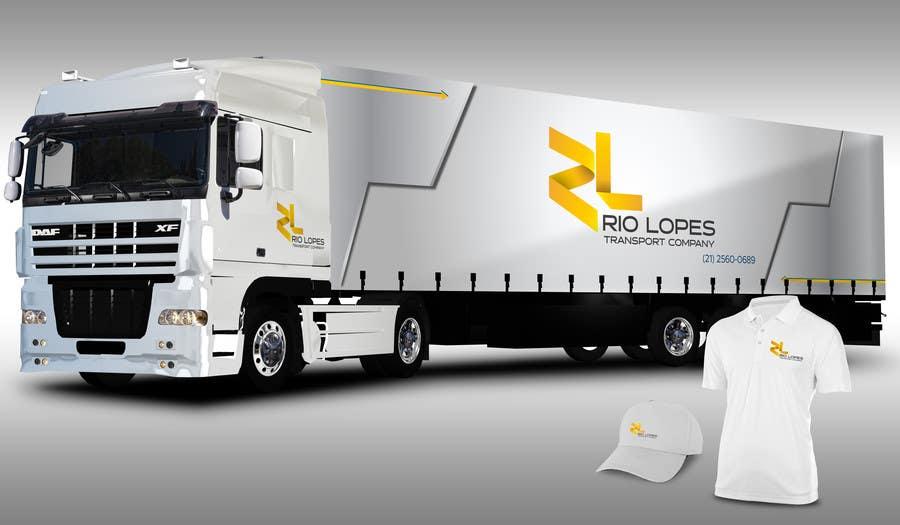 Bài tham dự cuộc thi #77 cho Design a logo - Transport Company Rio Lopes