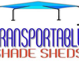 Nro 64 kilpailuun Design a Logo for Transportable Shade Sheds käyttäjältä mjmirshad