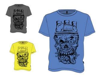 Nro 4 kilpailuun Incorporate New Feature Into Artwork for T Shirt käyttäjältä adityapathania